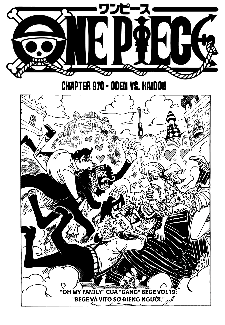 One Piece Chapter 970: Oden vs Kaido