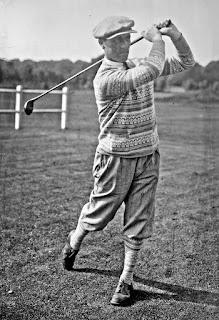 French golfer Auguste Boyer