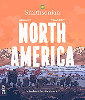 North America A Fold Out Graphic History