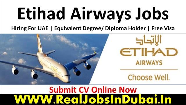 Etihad Airways Hiring Staff In Dubai UAE 2021