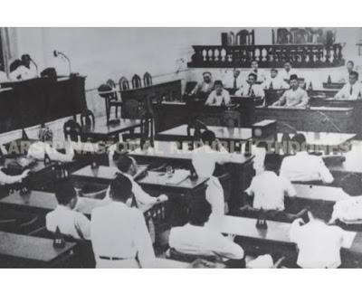 Suasana sidang BPUPKI 29 MEI 1945