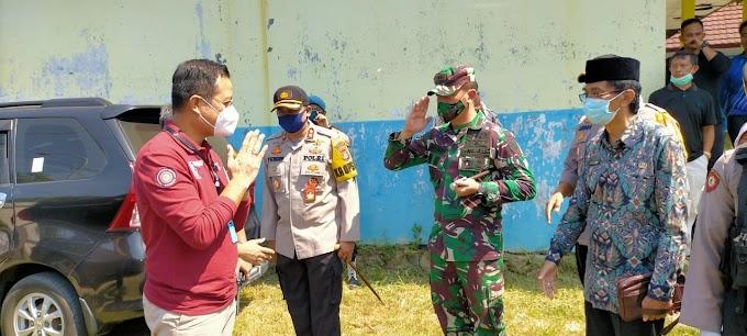 Polres Cilegon Lakukan Pengamanan Kunjungan Kerja Mensos di Bojonegoro