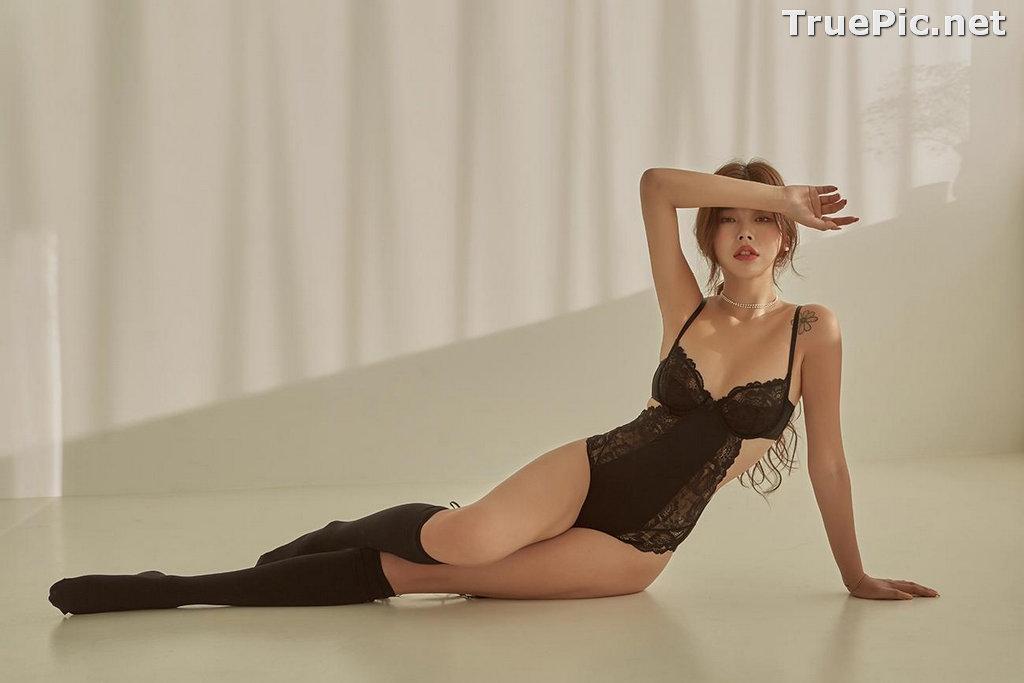 Image Korean Fashion Model - Da Yomi (다요미) - Lountess Spring Lingerie #1 - TruePic.net - Picture-10
