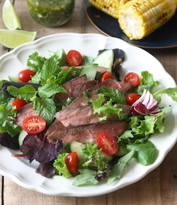 thai grilled steak salad recipe
