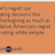 Happy Belated Thanksgiving!