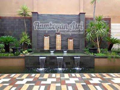 Tukang Taman Surabaya Contoh desain Kolam minimalis
