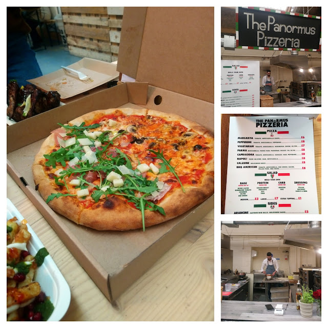 The Panormus Pizzeria at Outside-In Food Court, Portsmouth