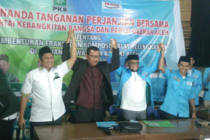 Dua Boh Partai Aswaja Meusaboh Lam Fraksi Di DPRA