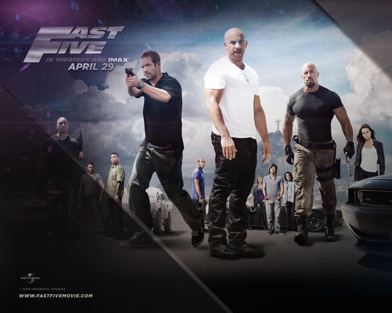 Eyesurfing: Fast Five Movie Wallpaper