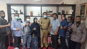 Jalin Sinergitas, Ketua DPC AWNI Bekasi Raya Sambangi Pemkot Bekasi