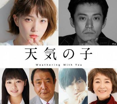 Tenki no Ko: Weathering With You