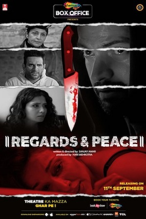 Watch Online Free Regards & Peace 2020 650MB Hindi Download 720p