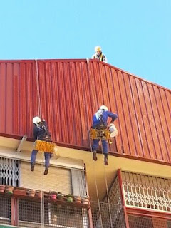 foto mantenimiento fachada edificios