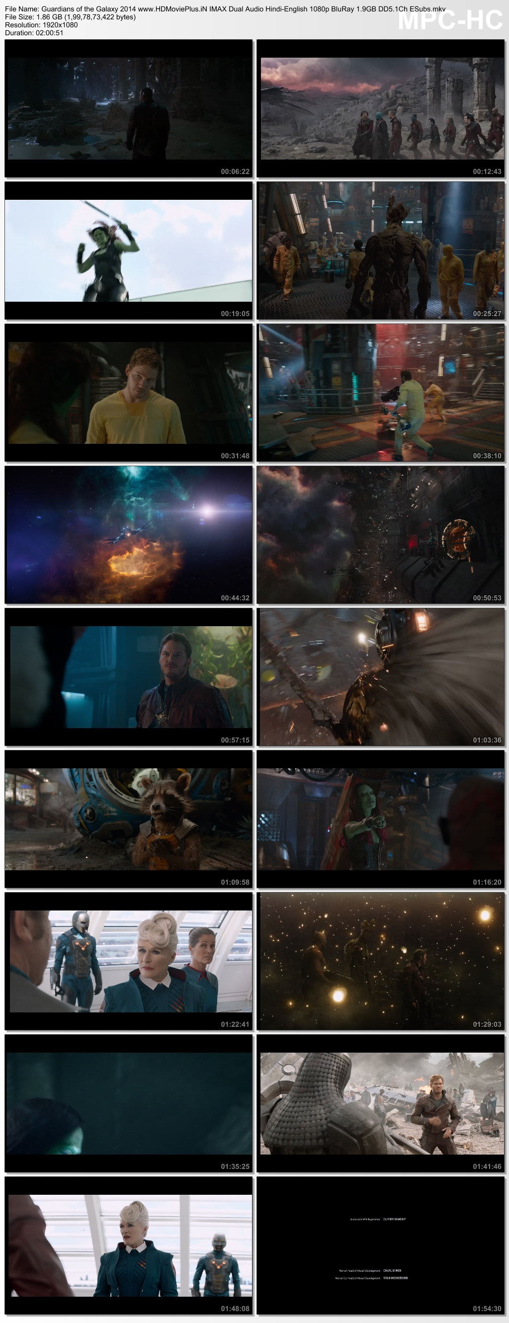 Guardians of the Galaxy 2014 Dual Audio
