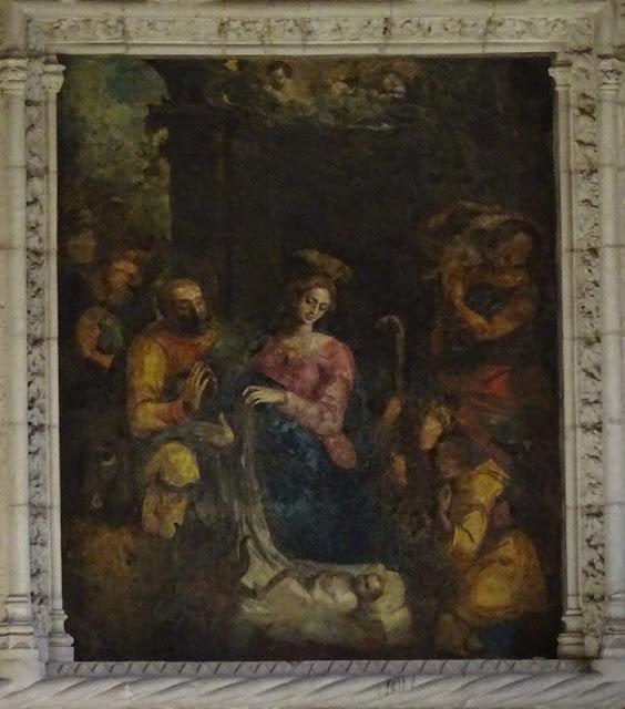 Mosteiro dos Jerónimos - Pintura no Refeitório