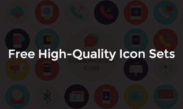 50 Best Free Flat Icon Sets for Designers 2016