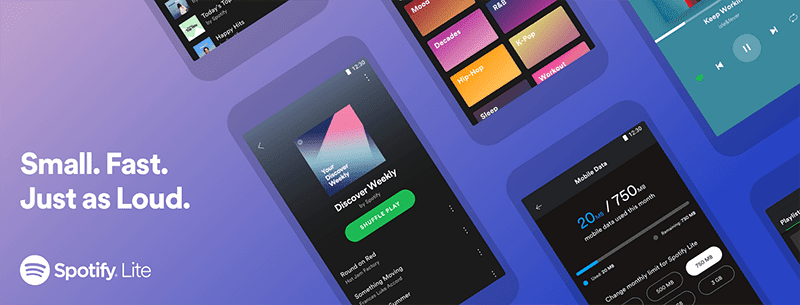 Spotify Lite launched in the Philippines