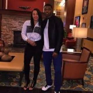Amari Cooper With His Girlfriend