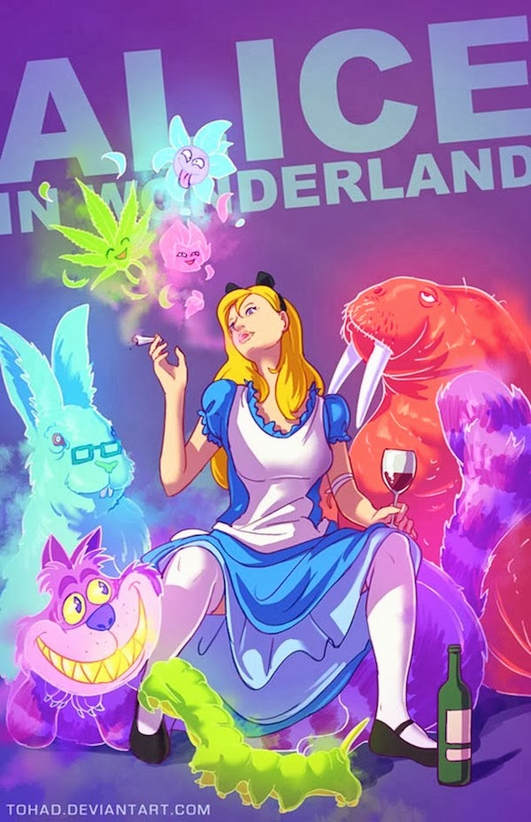 Alice in Wonderland BADASS Tohad