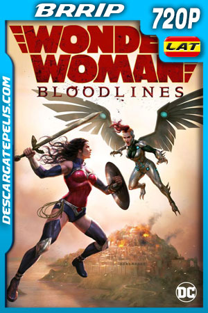 Wonder Woman: Bloodlines (2019) 720p BRrip Latino - Ingles