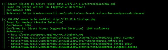link of vulnerabilities