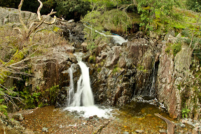 A Waterfall Near Great Langdale