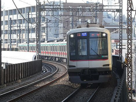 【ダイヤ改正で早朝限定運行へ!】5000系の各停 渋谷行き