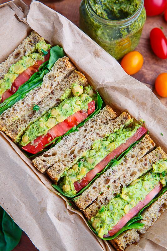 Cake Sandwich Vegan