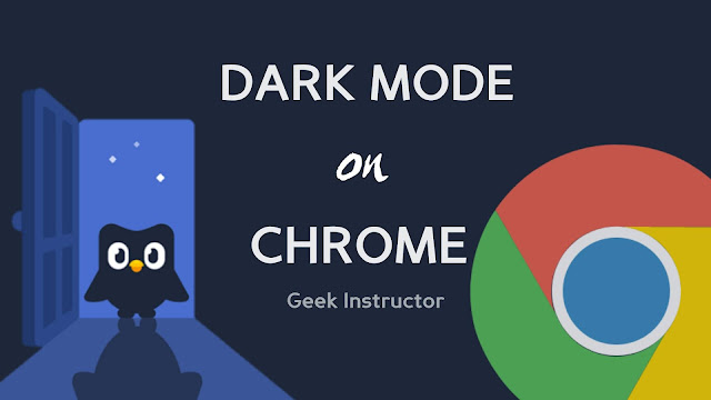 Dark mode on Google Chrome for Android