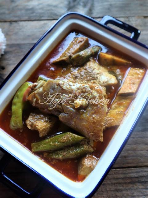 Kari Kepala Ikan Merah Ikut Tips Chef Istana Anak Bukit