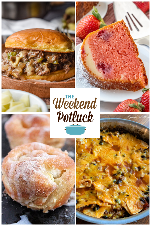 A virtual recipe swap with Philly Cheesesteak Sloppy Joes, Strawberry Cheesecake Bundt Cake, Puff Pastry Cinnamon Sugar Muffins, Beef Burrito Skillet and dozens more!