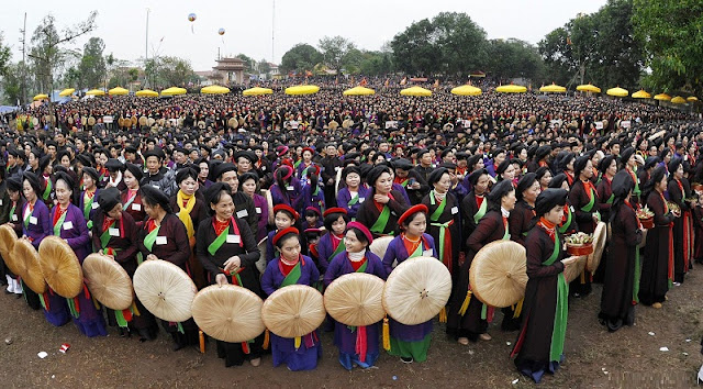 Attractive traditional festivals in lunar January in Vietnam 2
