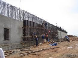 thi công tường chắn