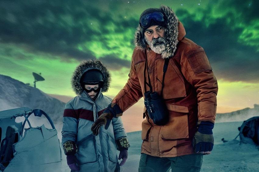 Рецензия на фильм «Полночное небо» - Джордж Клуни о жизни, вселенной и вообще