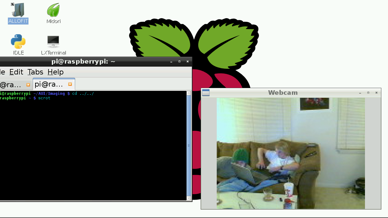 Using a webcam with the Raspberry Pi | Steves Computer Vision Blog