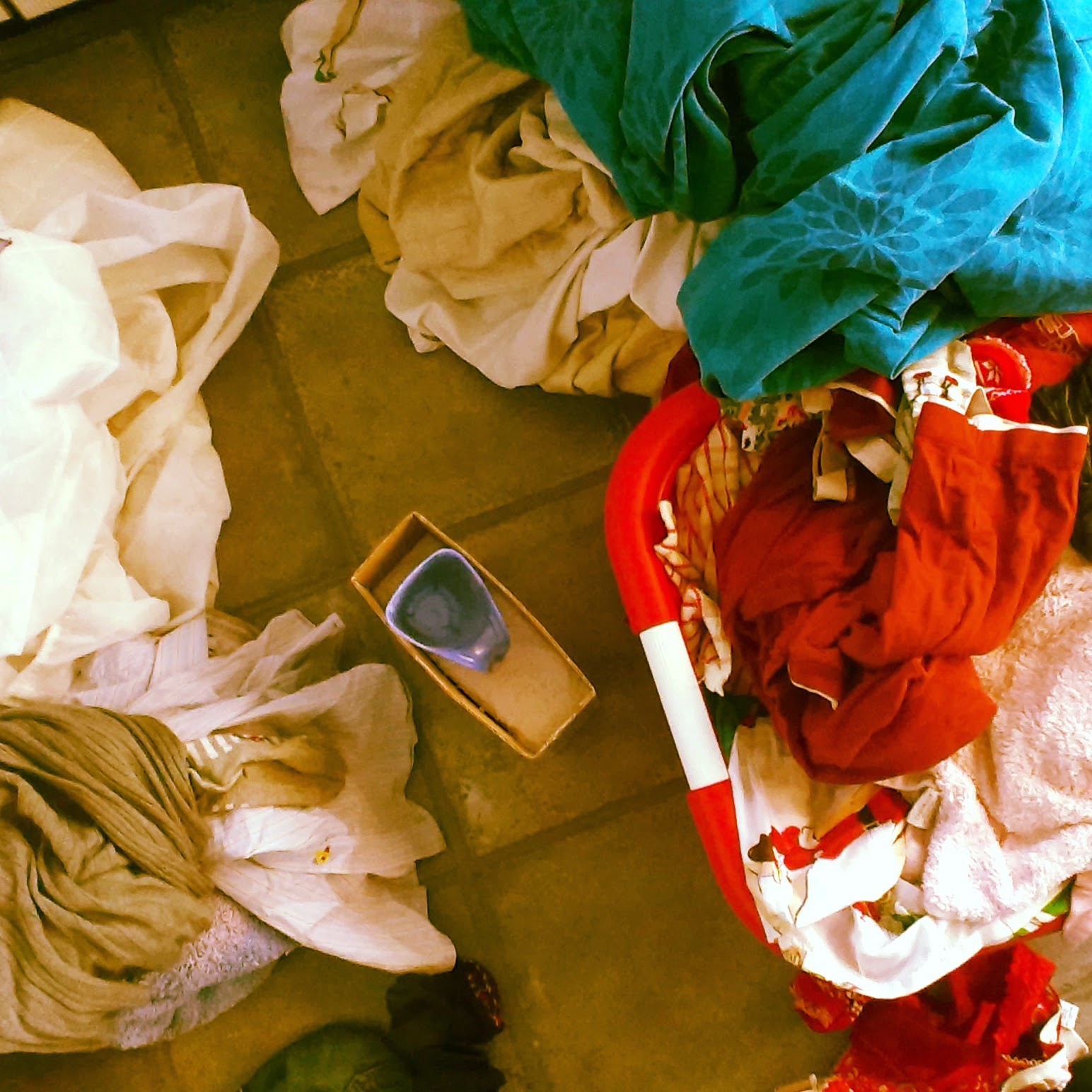 3pm - doing the washing