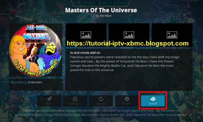 Master Of The Universe Kodi Addon Repo - New Kodi Addons Builds 2019