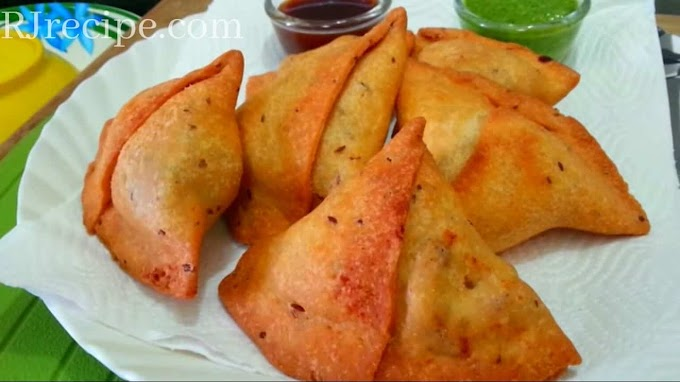 Samosa Recipe | Making Homemade Samosa | Without Maida