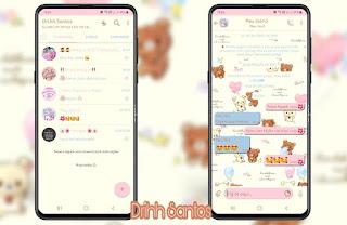 White Teddy & Green Theme For YOWhatsApp & Fouad WhatsApp By Driih Santos