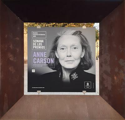 Premio Princesa de Asturias, Letras, Anne Carson