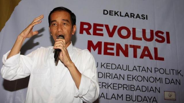Revolusi HRS Dianggap Makar, FPI: Jokowi Ngomong Revolusi Mental Sah Saja