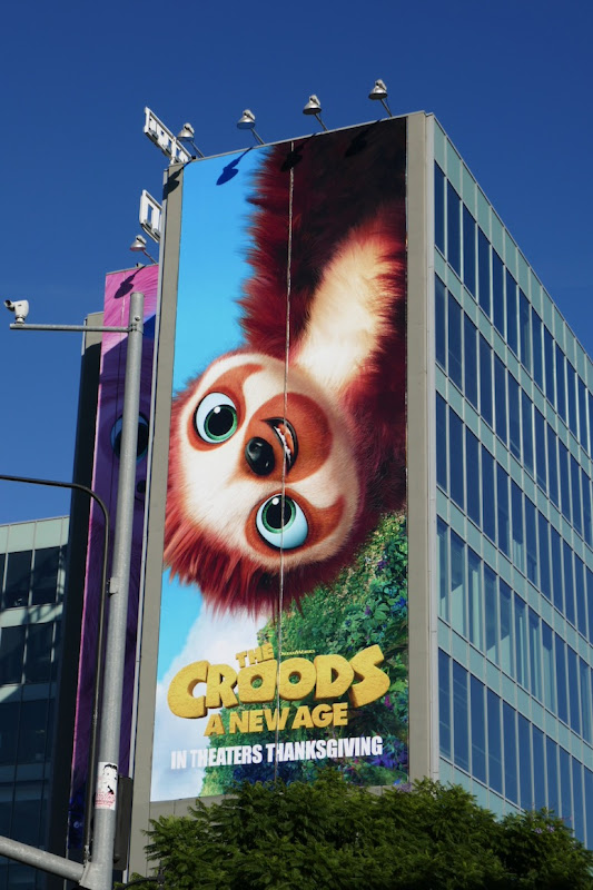 Croods A New Age Belt billboard