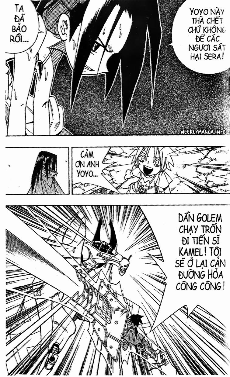 Shaman King [Vua pháp thuật] chap 197 trang 11