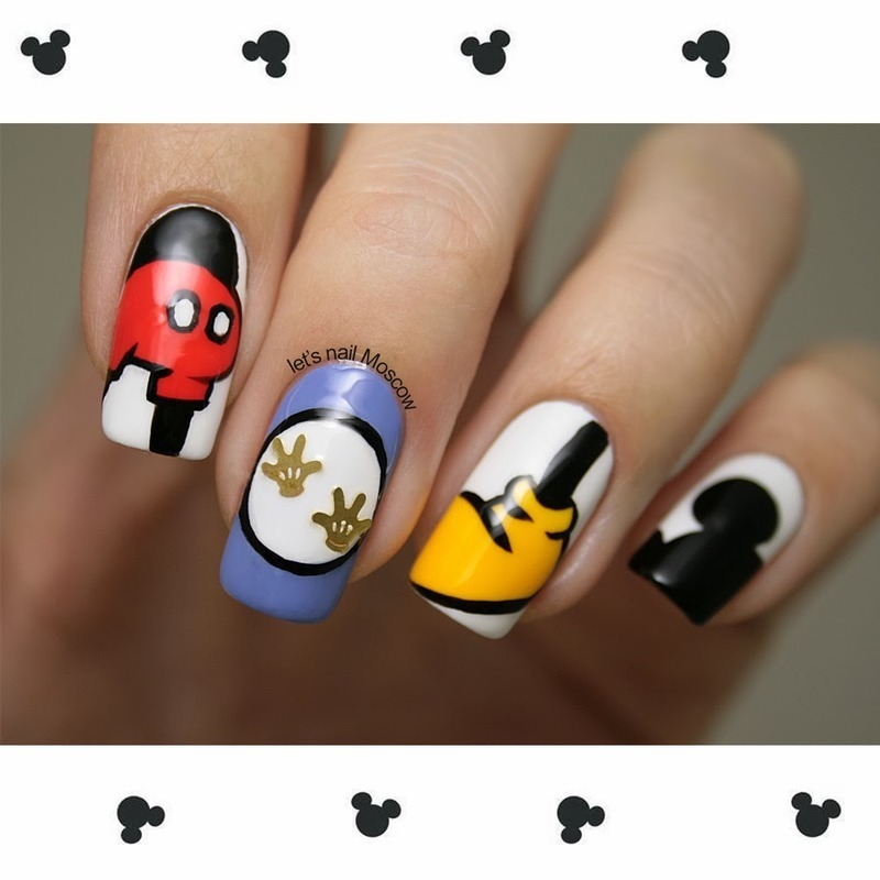 Disney Inspired Nail Art Ideas for Fairy Tale Lovers