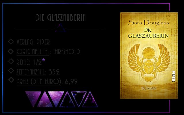 [Rezension] Die Glaszauberin - Sara Douglass