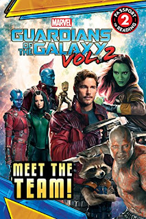 Guardians of the Galaxy Vol 2 party favor-a book is the best one!