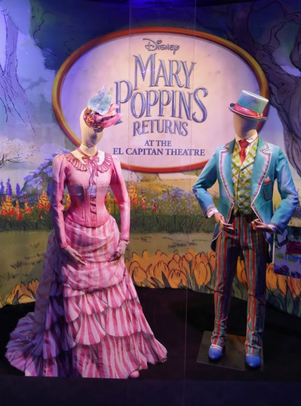 Emily Blunt Lin-Manuel Miranda Mary Poppins Returns Royal Doulton Bowl costumes