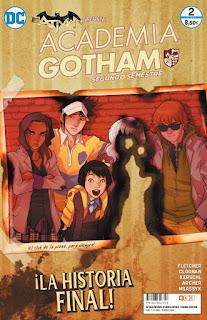 """Reseña de """"Academia Gotham: Segundo Semestre #2"""" de Brenden Fletcher - ECC Ediciones"""