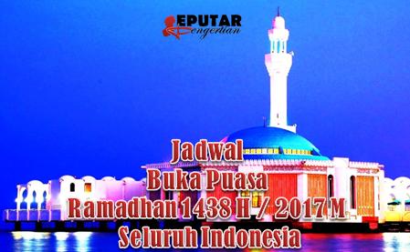 Jadwal Lengkap Imsakiyah / Buka Puasa Ramadhan 1438 H / 2017 M Kota Kendari