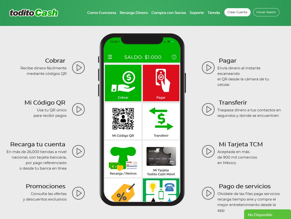 Todito Cash bookmakers